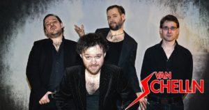 Die Rockband Van Schelln aus Erlangen
