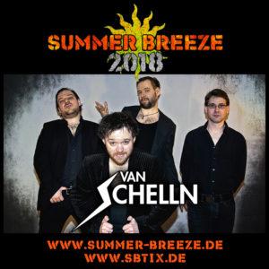 Van Schelln am Summer Breeze 2018