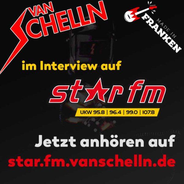 Van Schelln im Interview auf Star FM Oktober 2019