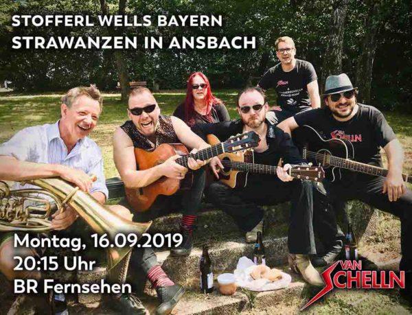 Van Schelln: Strawanzen in Ansbach mit Stofferl Welll